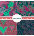 Colorful set of abstract seamless backgrounds vector image vector image