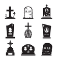 Grave Icons vector image