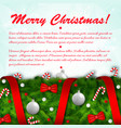 holiday celebrating background vector image vector image