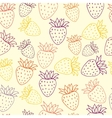 pattern of berries vector image