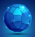 Plastic pixel colorful dimensional sphere sparkle vector image vector image