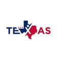 business development logo in texas vector image