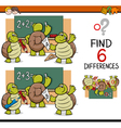 differences task for children vector image vector image