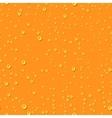 orange water transparent drops seamless pattern vector image