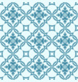 portuguese tiles quatrefoil pattern vector image vector image