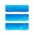 Set of network connection concept banner abstract vector image vector image