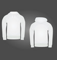 hoodie vector image