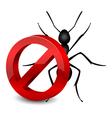 pesticide icon vector image