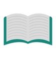 book icon reading design graphic vector image vector image