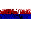 Flag of Republika Srpska vector image vector image