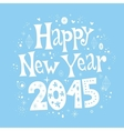 Happy New year 2015 card 4 vector image vector image