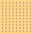 realistic cookie texture background eps10 vector image