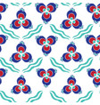 turkish chintamani pattern vector image vector image