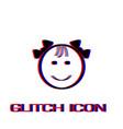 fanny baby icon flat vector image vector image
