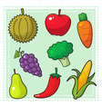 Fruits and vegetables 01 vector | Price: 1 Credit (USD $1)