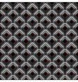 geometric checked pattern vector image vector image