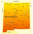 New Mexico vector image vector image