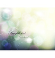 Romantic Blurred Background vector image vector image