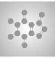 The molecular structure and communication at a vector image