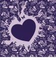vector heart vector image