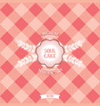 Vintage design for confectionery vector image vector image