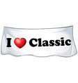 Classic vector image vector image