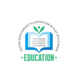Education - logo template concept