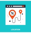 navigation vector image vector image