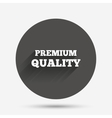 Premium quality sign icon Special offer symbol vector image vector image