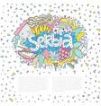 serbia concept vector image