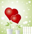 Tree of love vector image