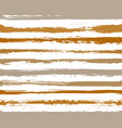 watercolor stripes grunge background vector image