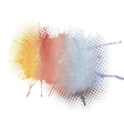colorful watercolor vector image vector image