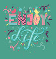 motivational hand drawn color vector image vector image