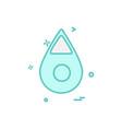 oil icon design vector image