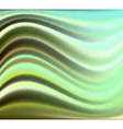 Wavy green textured background vector image