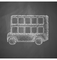 bus double decker icon vector image vector image