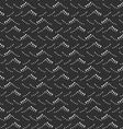 Monochrome pattern with gray and black dotted sea vector image