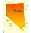 Nevada vector image vector image