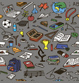 set back to school educational objects vector image