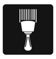 bar code scanner icon simple vector image vector image