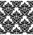 Classic damask seamless pattern vector image vector image