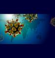 covid19-19 coronavirus disease design vector image