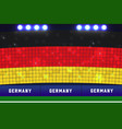 germany soccer or football stadium background vector image vector image