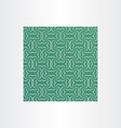 green square sameless pattern background vector image vector image