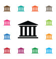 isolated court icon museum element can be vector image