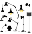 Lamp set vector | Price: 1 Credit (USD $1)