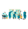 set a cleaning service vector image
