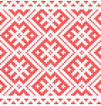 traditional russian and slavic ornamentred vector image vector image