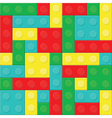 CConstruction blocks removable pieces vector image